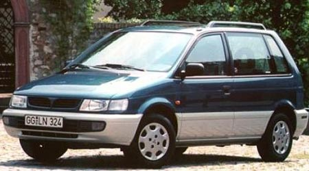 MITSUBISHI Space Runner I 1991 → 1999 2-ой ряд сплошной