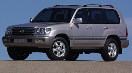 TOYOTA Land Cruiser 100 VI 1996 → 2000 2 ряд сплошной