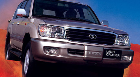 TOYOTA Land Cruiser 100 VI 2000 → 2007 2 ряд сплошной